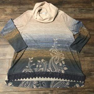 CJ Banks Cowl Neck Fall Sweater
